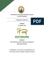 Zoo Negara Report@Unikl