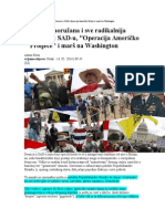 Analiza Naoružana i Sve Radikalnija Desnica u SADu Operacija Američko Proljeće i Marš Na Washington