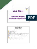 Empaquetado y Despliegue de Aplicaciones Java 2004
