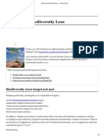001 Addressing Biodiversity Loss — Global Issues
