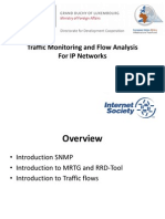 1 Traffic Monitoring and Flow Analysis