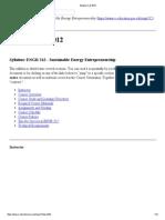 Syllabus Fall 2012 _ ENGR 312_ Sustainable Energy Entrepreneurship