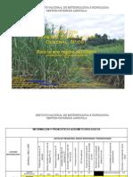 BOLETÍN AGROMETEOROLOGICO Decenal Nº 661 Para La Eco Región Del Chaco 1er Decenal de Agosto Del 2014