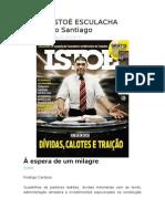 Revista ISTOÉ ESCULACHA Valdemiro Santiago