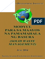 Module on Solid Waste Management