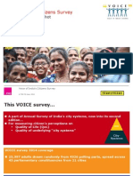 Voice of India's Citizens Survey