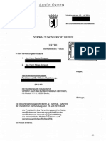 Urteil Kosten IFG VG Berlin