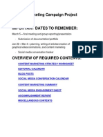 Content Marketing Campaign Project Details 1314 - Revised