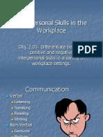 2.01 Interpersonal Skills