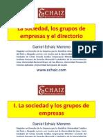 La Sociedad, Los Grupos de Empresas y El Directorio