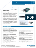 Sangoma A116 16-Span T1/E1/J1 Card Datasheet
