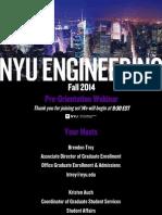 University - New York_ Pre-Orientation Webinar Fall 2014 - PDF for Publishing