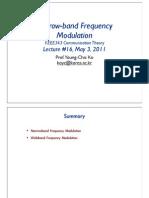 Electronic modulation