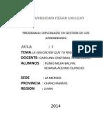 Diplomado 2014 1la Educacion en Mi Region. (1)