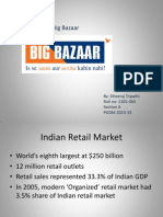 BigBazaar Case analysis