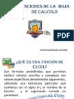 2 Funciones en Excel
