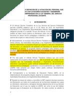 Programa Ley General Docente 2013