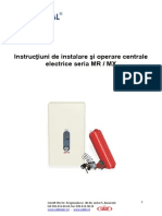 Manual Centrale Electrice