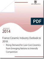 France Ceramic Industry Outlook to 2018_Executive Summary