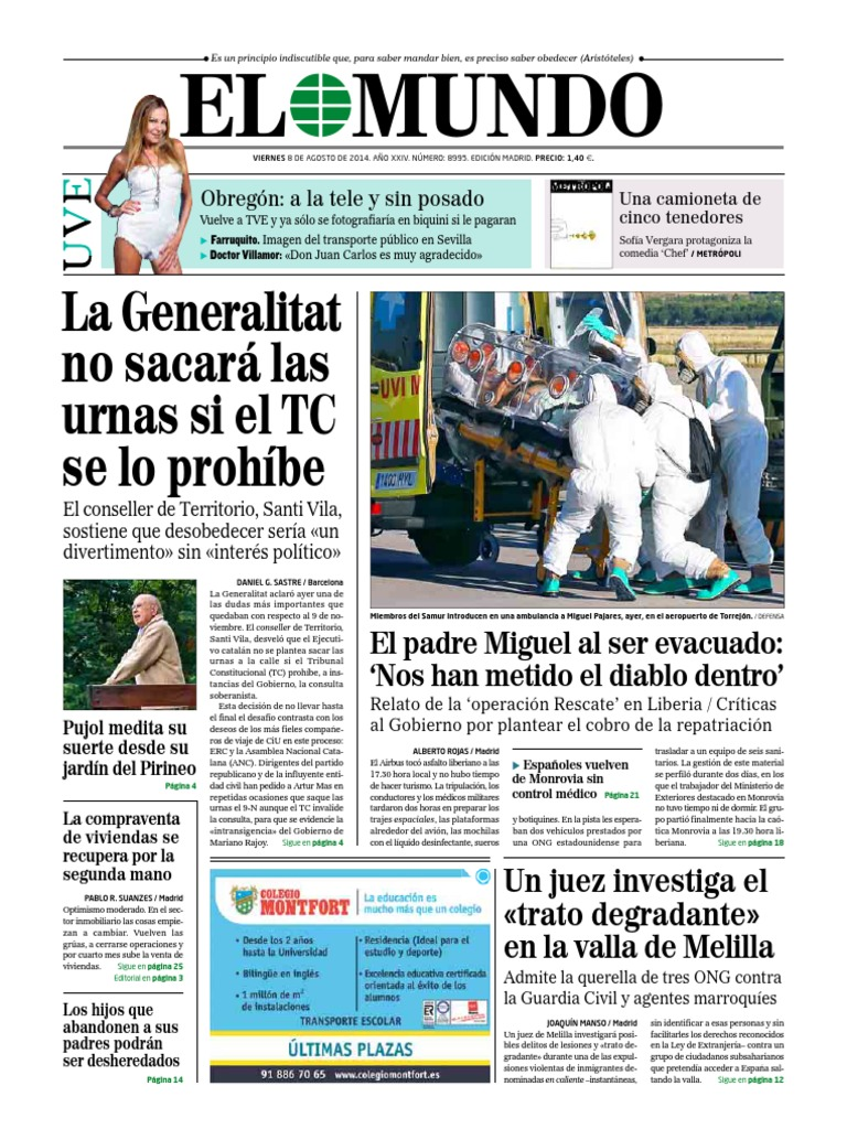 Calendario Escolar 2020 16 Cantabria.El Mundo 0808 Politica Politica General