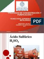 Clase 1_ Proc Conc y Purif I _ Ácido Sulfúrico