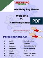 Makar Rashi Baby Boy Names With Meanings