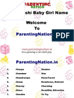 Meen Rashi Baby Girl Names With Meanings