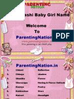 Mithun Rashi Baby Girl Names With Meaning