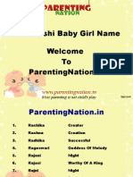 Tula Rashi Baby Girl Names With Meanings