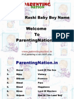 Vrushabh Rashi Baby Boy Names With Meanings