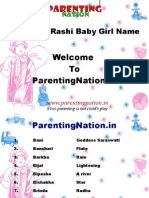 Vrushabh Rashi Baby Girl Names With Meanings