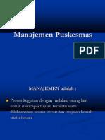 Manajemen Puskesmas