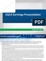 Earnings Presentation - 2Q14