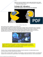 Psicologia Del Videogioco