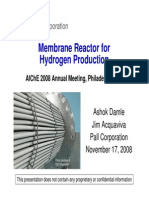 Hydrogen Reactor for Hydrogen Production