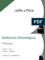 FILOSOFÍA Y ÉTICA