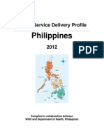 Service Delivery Profile Philippines