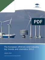 2013-01-29-European Offshore Statistics 2012 - EWEA