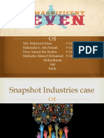 Snapshot Industries case