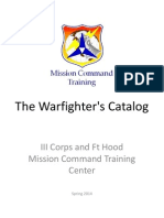 MTC Warfighter Catalog Mar14