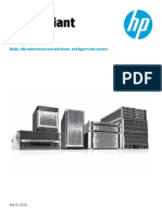 HP High Performance Servers Choices