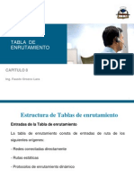 Capitulo 8- Tabla de Enrutamiento