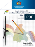 022 Ley de La Educación as-EP No. 070-MinEducación