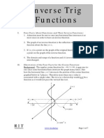 19Inverse Trig Functions