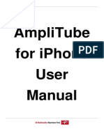 AmpliTube 3.3.0 iPhone User Manual