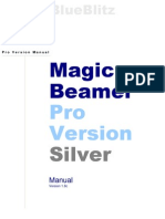 MagicBeamer Silver Version Client Manual Ver 1.8c