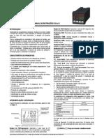 Manual de Programação Porgramador Novus 1100