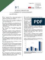 Cittadini Non Comunitari Regolarmente Presenti - 05-Ago-2014 - Testo Integrale