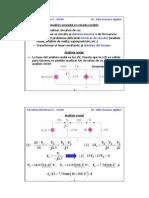 Analisis nodal y de mallas en corriente alterna