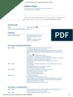 Currículo Do Sistema de Currículos Lattes (Aline Siqueira Fogal)